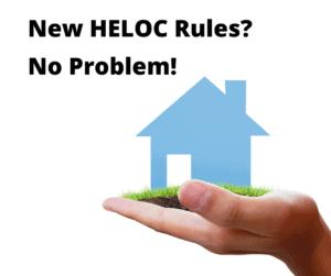New HELOC Rules